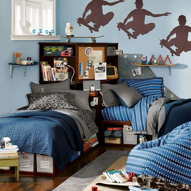 12 teen boy rooms for inspiration nooshloves for Bedroom bad design