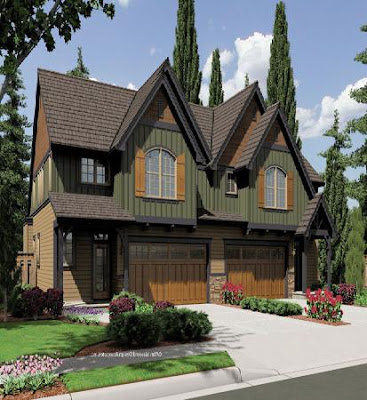 Awesome home design with plans multi family home plans for Multi family home plans