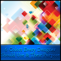 6 Colors Every Designer Should Use & Their Purpose