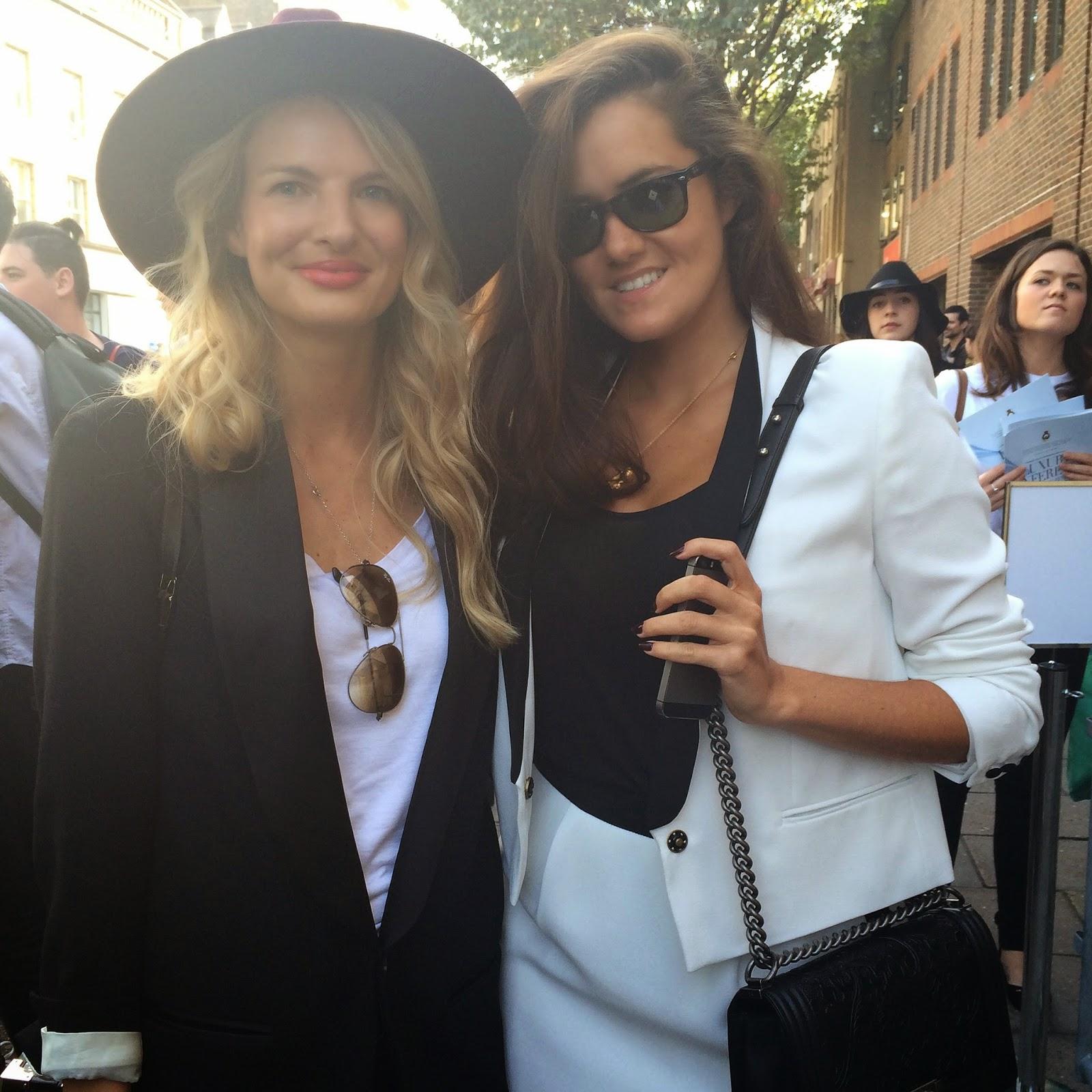 London fashion week, london fashion week topshop, london fashion week rosie londoner, reiss hat, reiss mimi hat
