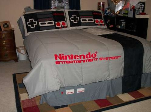 Nintendo Bed Sheet