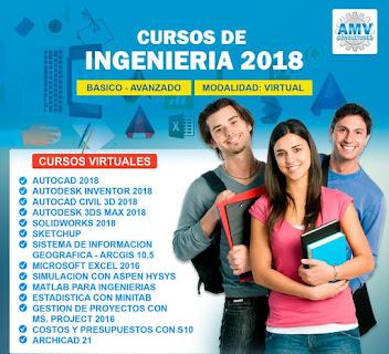 Cursos de Ingenieria 2018