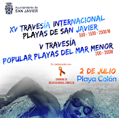 XV TRAVESÍA INTERNACIONAL  PLAYAS DE SAN JAVIER