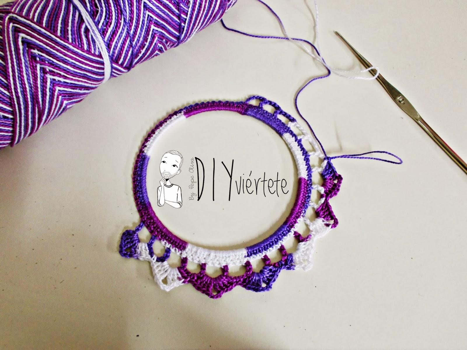 DIY-zarcillo-pendiente-bisutería-ganchillo-crochet-flamenca-Diyviértete4