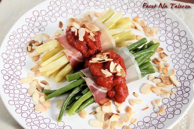 letnia sałatka z fasolki szparagowej