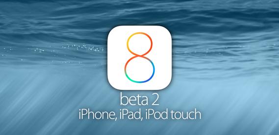 Apple iOS 8 Beta 2 Downloads