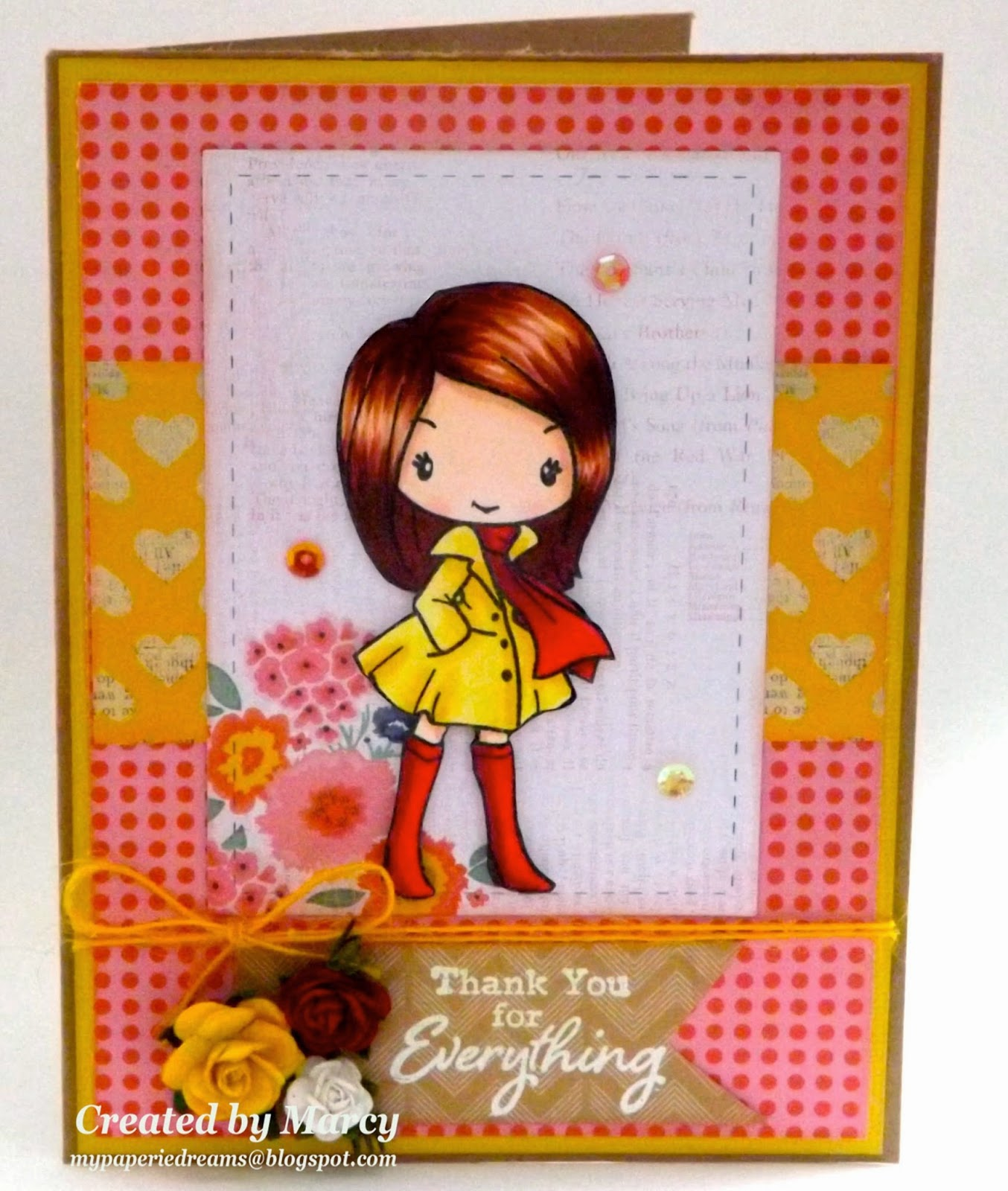 My paperie dreams the greeting farm november 2014 release blog i decided to use this very fashionable anya from the together anywhere card for release day isnt she so stylish and cute i had fun coloring her up with kristyandbryce Choice Image
