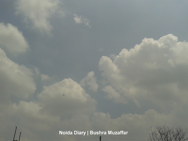 Clear Sky in Noida after the Rains in July