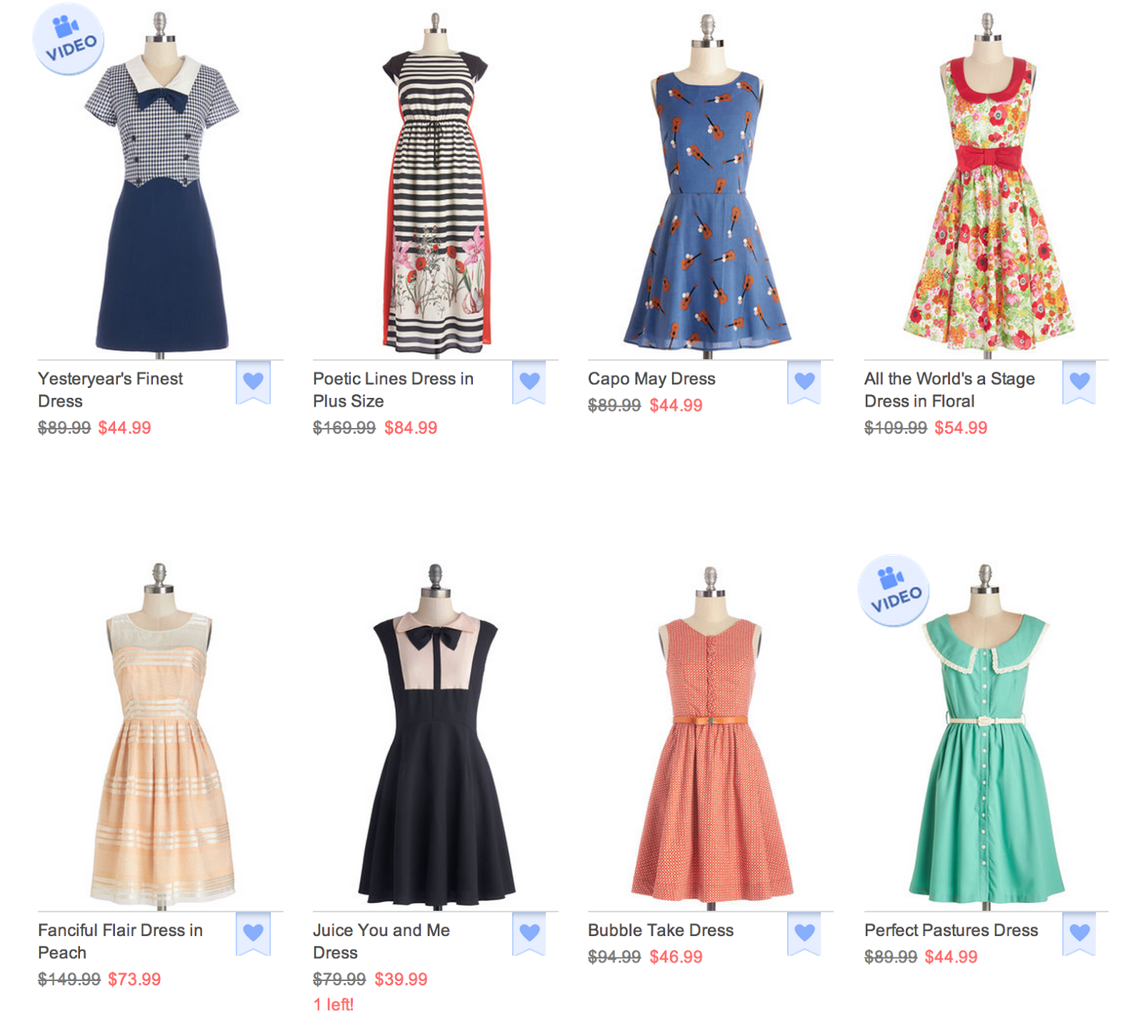 affiliate, dresses, modcloth, plus size clothing, plus size dresses, sale, plus size fashion, fatshion