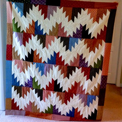 Scrappy Mountain Majesties Quilt - Free Pattern