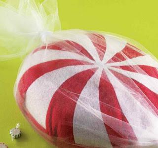 Almofada em forma de doces moldes