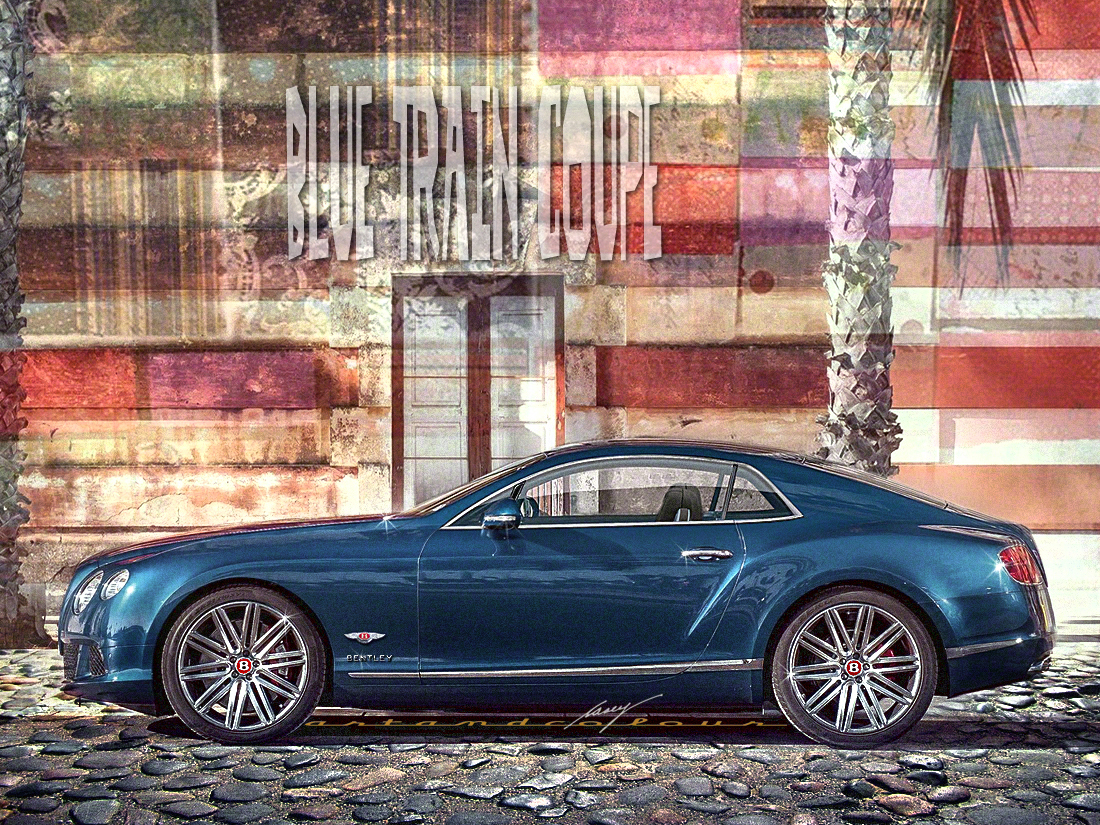 Casey artandcolour cars february 2012 - Bentley S 2 Seater V12 Td H Super Coupe