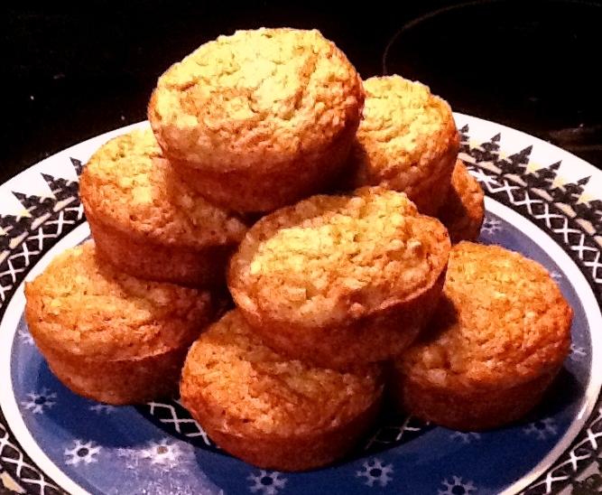 GlutenAway: Gluten Free Banana Oatmeal Muffins