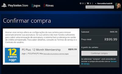 Como assinar PS Plus sem cartão de crédito - Machado Ramon