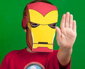 Printable Iron Man Mask