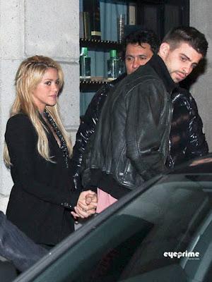 Shakira y pique juntos fotos barcelona