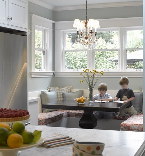 Breakfast Nook Banquette: {soma Home}: Have A Seat, On My Banquette