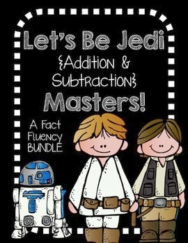 http://www.teacherspayteachers.com/Product/Addition-and-Subtraction-Jedi-Masters-fact-fluency-packet-BUNDLE-777189