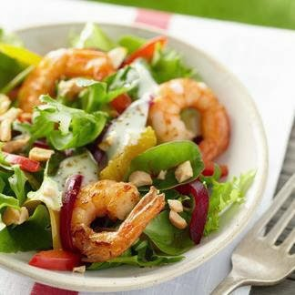 shrimp salad appetizer
