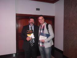 Com Mário Sérgio Cortella