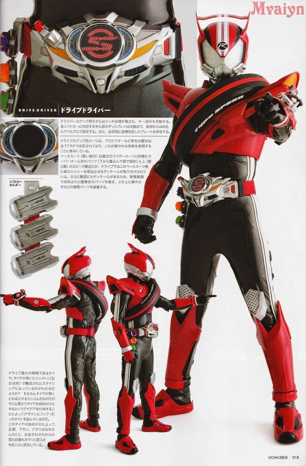 Kamen rider drive single