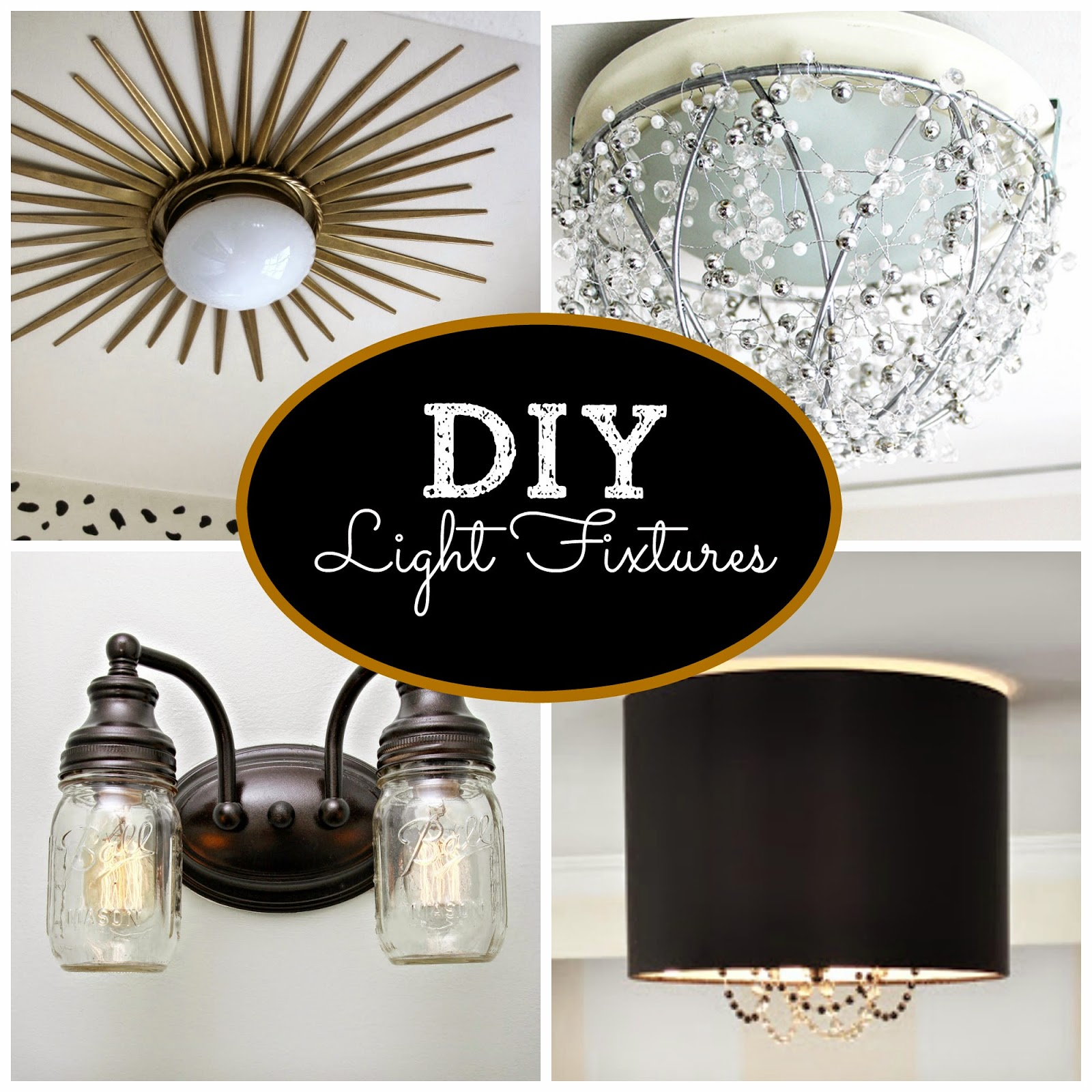 Home made modern kitchen light fixture for Diy kitchen light fixtures