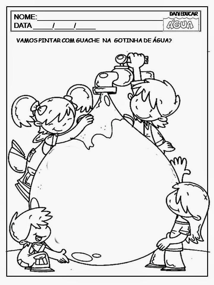 Well-known Mundo da Criança: Atividades água educação infantil YH69