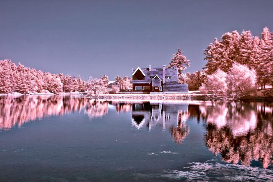 14. Pink House (Infrared.. by Samet Güler
