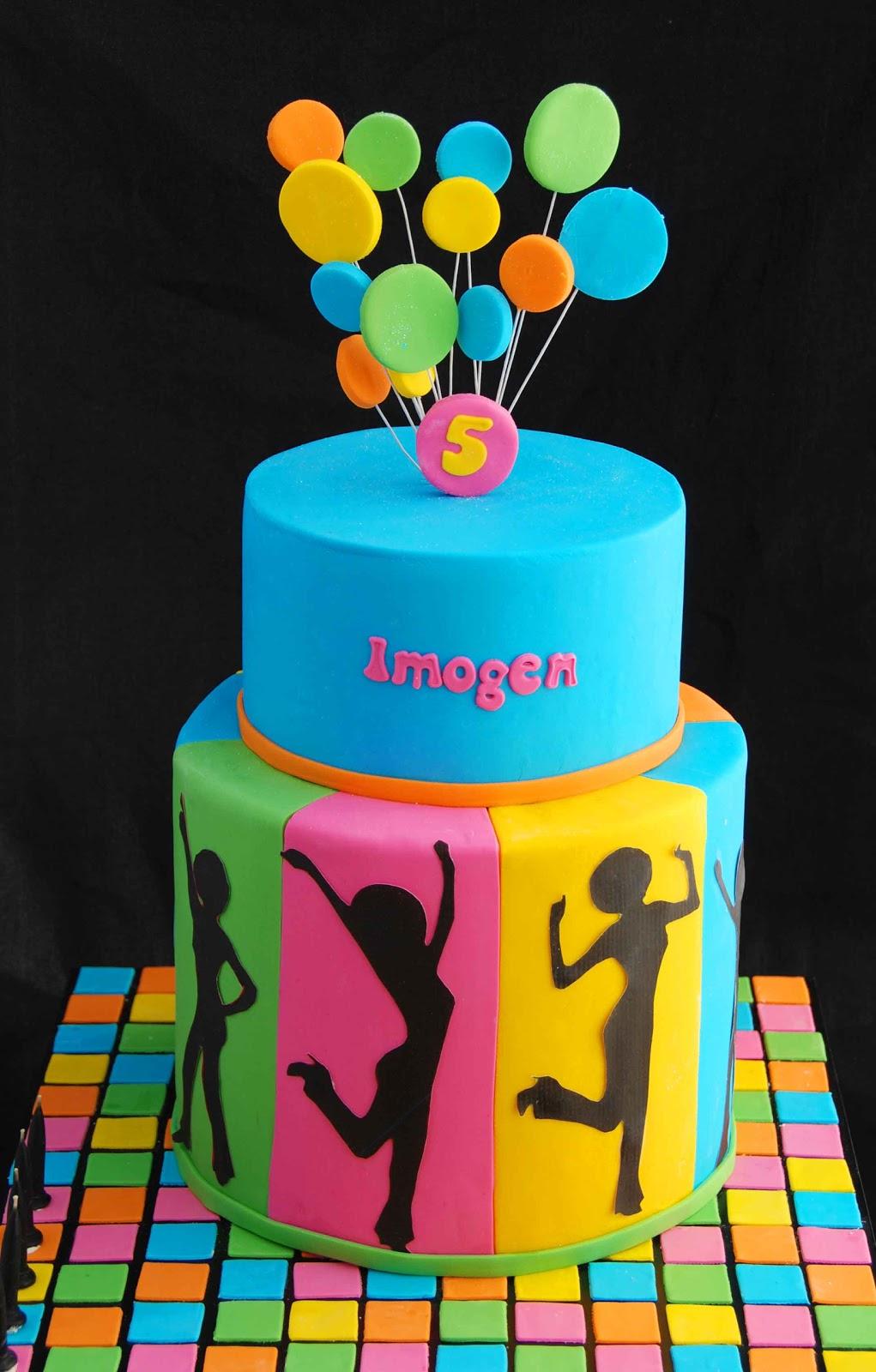 Cake Ideas Disco Birthday Party : Little Robin: Disco Theme Cake