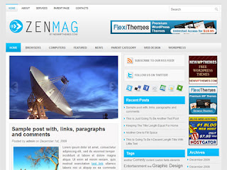 ZenMag WordPress Theme