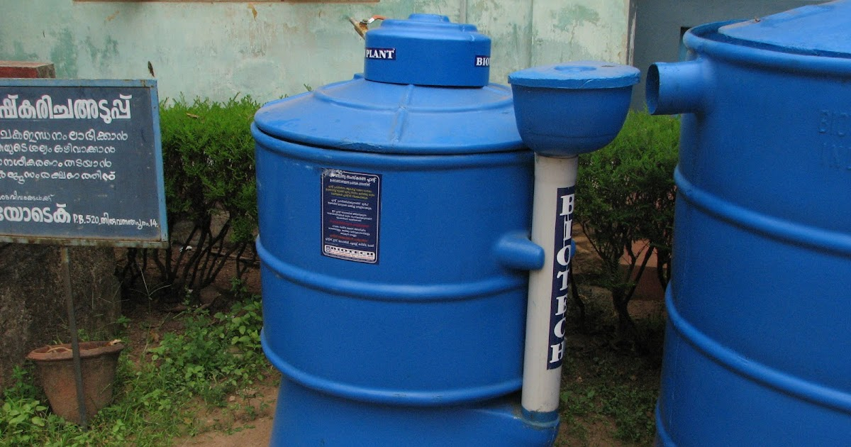 Small Scale Biomethanation Biogas Or Gobar Gas In India Biogas Plant Anaerobic Digester Blog