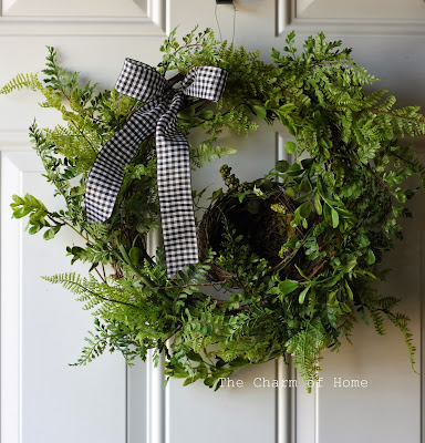 Spring Wreath: The Charm of Home