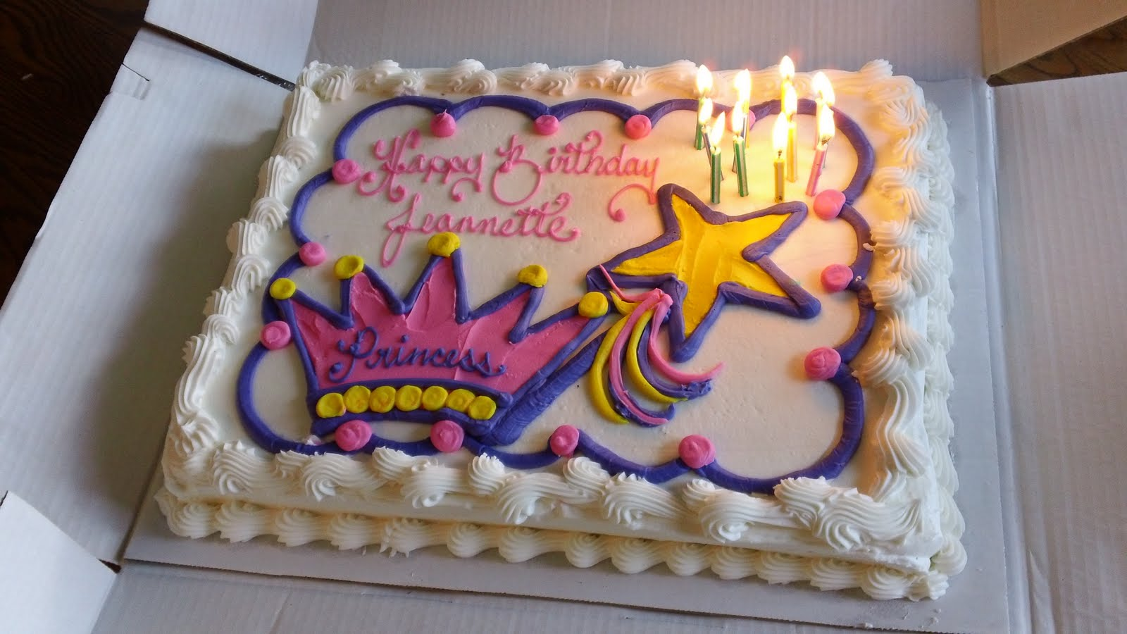 Costco Birthday Cakes Princess Source