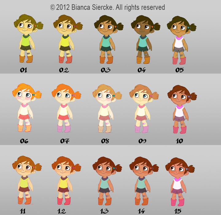 Good Character Design Apps : Bianca siercke ianiamte character design
