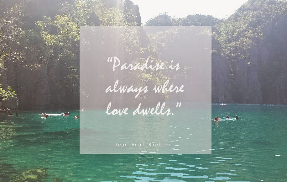 Follow Me To Paradise Travel Gourmande Delectable Paradise Quotes