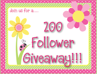 200 followers giveaway!