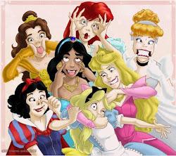 Las princesas también estan locas. ;)
