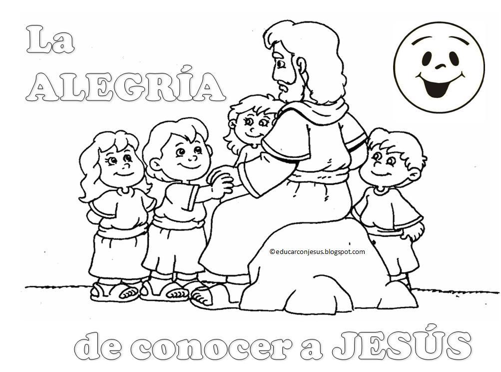 Educar con Jesús: La alegría de conocer a Jesús