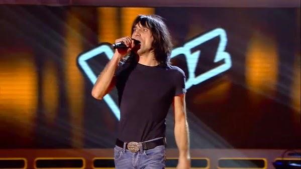 Alcón canta Jump de Van Halen Audiciones a ciegas Gala 4