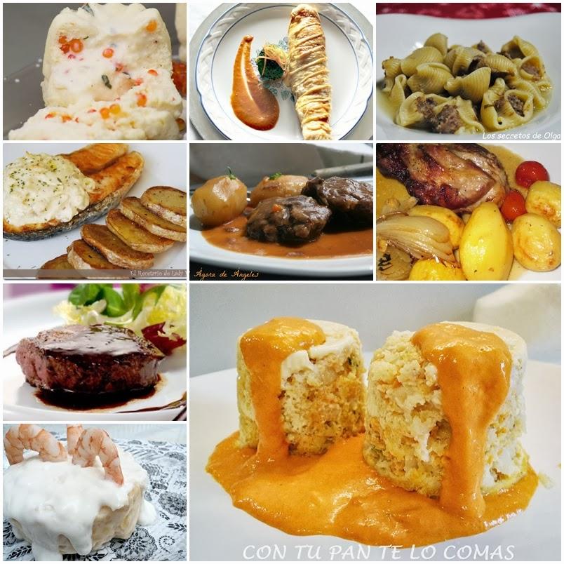 Men para cena de nochevieja cocina - Ideas para comida de navidad ...