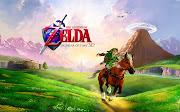 The Legend of zelda Ocarina of time 3d wallpaper (the legend of zelda ocarina)
