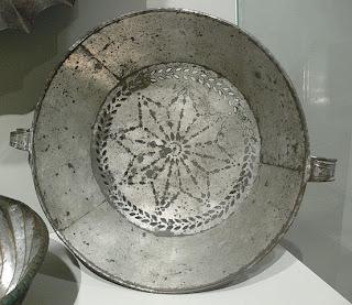 Imagen de Criba que se utilizaba en la antigüedad para limpiar del trigo