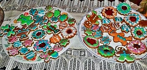 Galletas decoradas de jengibre