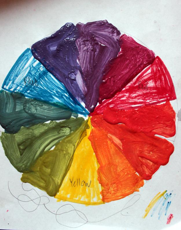 Ordinary Life Magic Simple Color Wheel