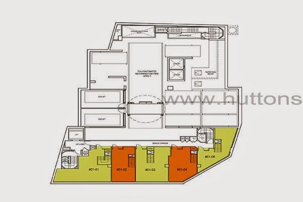 Ascent @ 456 Commercial Shop Floor Plan