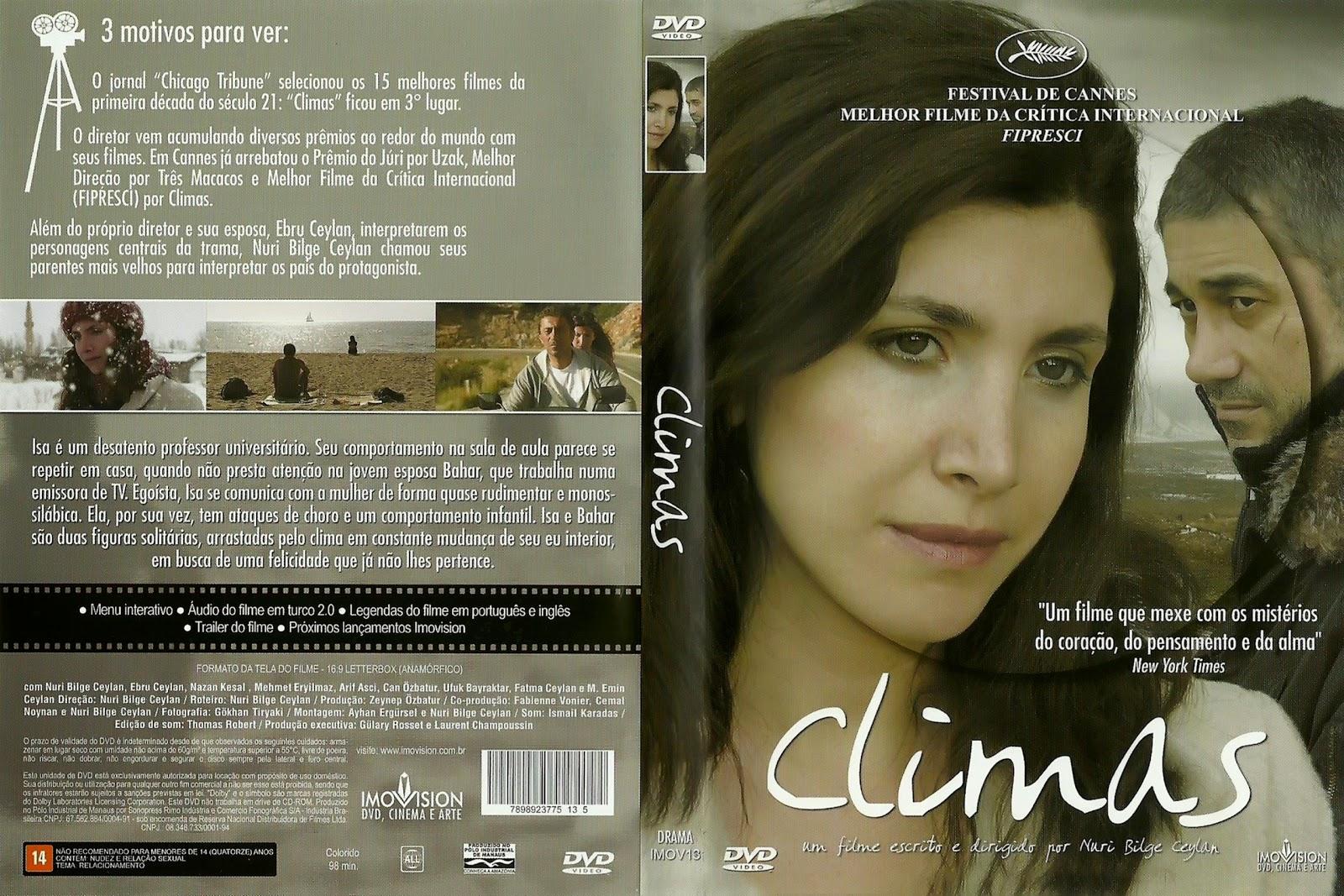 Capa DVD Climas
