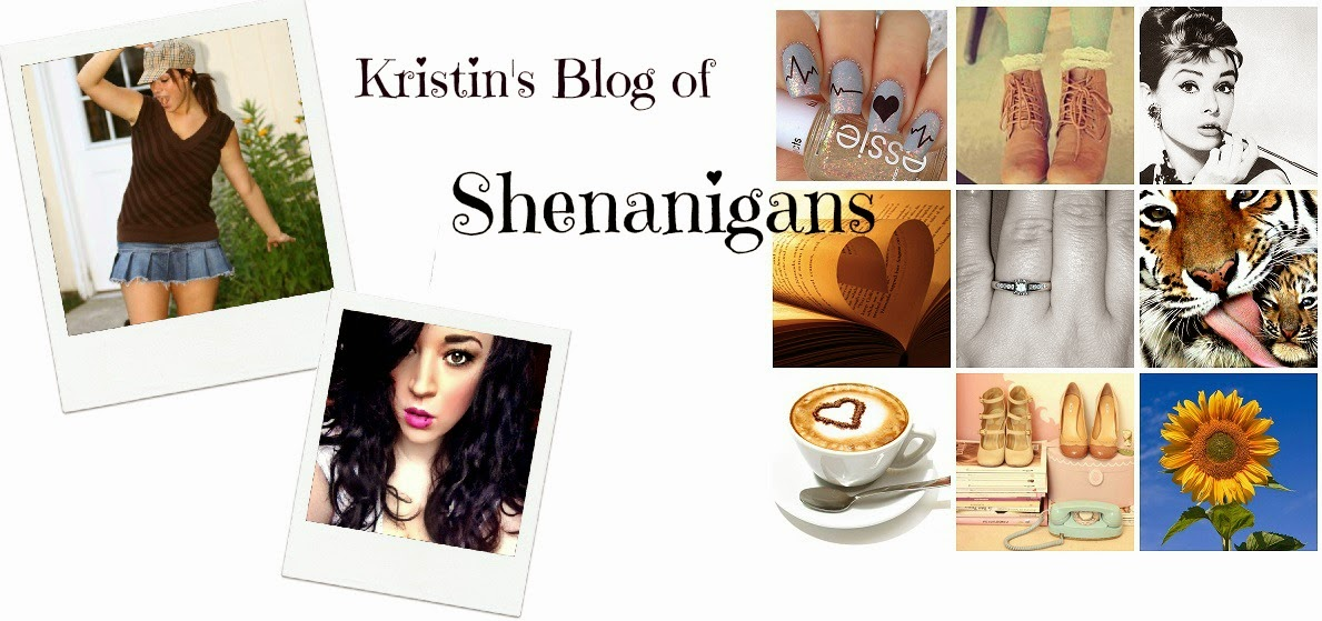 Kristin's Blog of Shenanigans