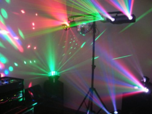 Alto impacto empresarial luces y sonido - Luces led de colores ...