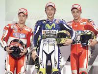Valentino Rossi Memenangi Balap Pembuka Musim di Qatar