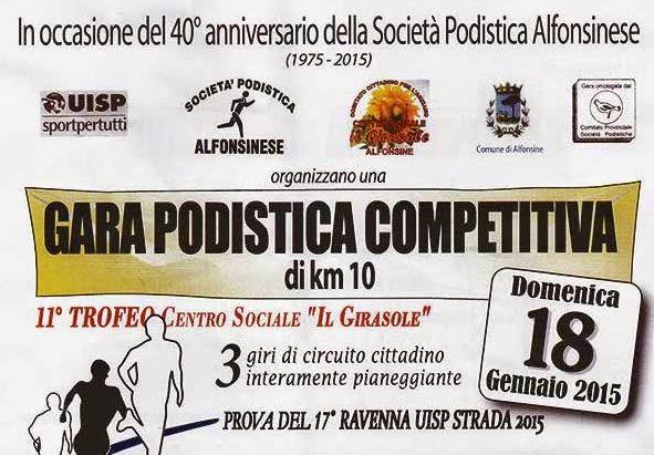 Trofeo Centro Sociale Girasole 2015